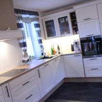 Küche in L-Form, Landhaus
