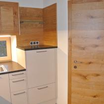 Tür passend zur Küchenfront